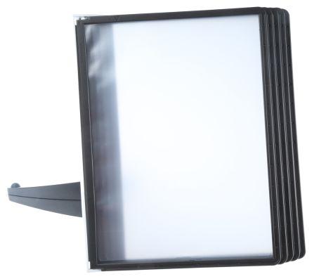 5540 01 durable black desktop document holder durable With durable document holder