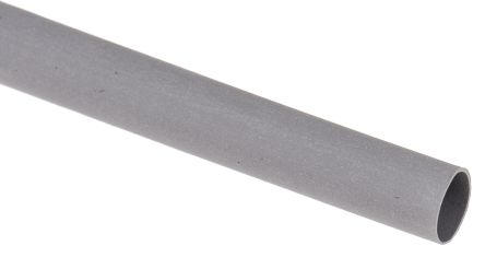 RS Pro Grey Heat Shrink Tubing, sleeve diameter 4.8mm, length 1.2m, Ratio 2:1