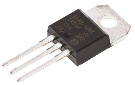 stmicroelectronics bta06-600c 三端双向可控硅开关元件, 6a额定