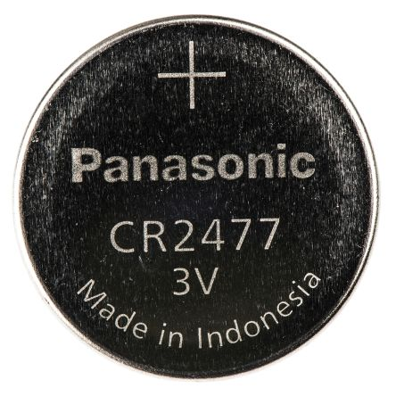 Cr 2477 Bn Pile Bouton Panasonic Cr2477 Lithium