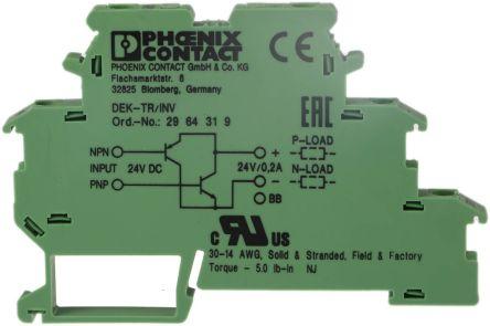 2964319 Npn To Pnp Pnp To Npn Signal Converter Phoenix