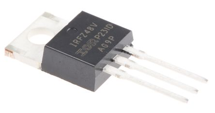 Infineon Nチャンネル パワーMOSFET, 60 V, 72 A, 3 ピン パッケージTO-220AB HEXFET シリーズ
