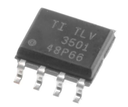 texas instruments tlv3501aid 比较器, 推挽式输出, 3 v 5 v, 8引脚