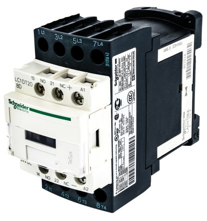 lc1dt20bd tesys d lc1d 4 pole contactor 20 a 24 v dc coil tesys d lc1d 4 pole contactor 20 a 24 v dc coil