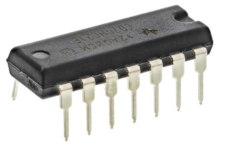 texas instruments 的 74hc 系列 cmos 逻辑 ic 的一系列标准逻辑门.