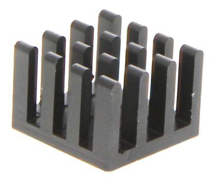 Heatsink, BGA, 27.4K/W, 14 x 14 x 10mm, Adhesive Foil, Conductive Foil
