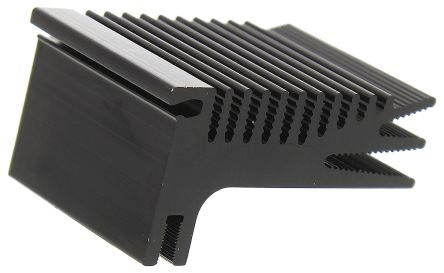 Heatsink, TO-220, TO-247, 5K/W, 37.5 x 52.3 x 28mm, Clip
