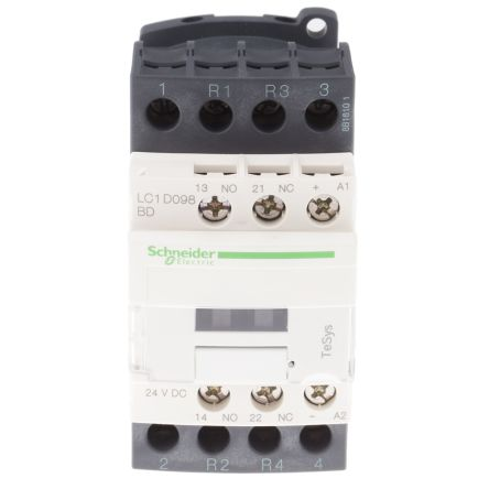 lc1d098bd tesys d lc1d 4 pole contactor 9 a 24 v dc coil tesys d lc1d 4 pole contactor 9 a 24 v dc coil