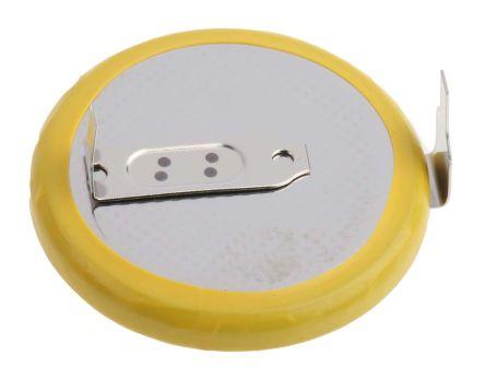 cr2330 hfn panasonic knopfzelle cr2330 lithium mangandioxid pcb pin anschluss 3v 265mah. Black Bedroom Furniture Sets. Home Design Ideas