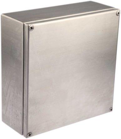 Scatola di derivazione rs pro acciaio inox 200 x 80 x for Altezza prese elettriche