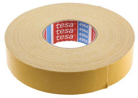 4964 50mx38mm cinta de tela de doble cara tesa blanco - Cinta doble cara tesa ...