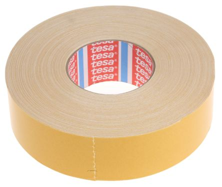 4964 50mx50mm tesa 4964 white double sided cloth tape 50mm x 50m thick tesa. Black Bedroom Furniture Sets. Home Design Ideas