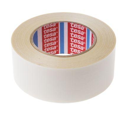 51960 tesa 51960 white double sided plastic tape 50mm x 50m tesa. Black Bedroom Furniture Sets. Home Design Ideas