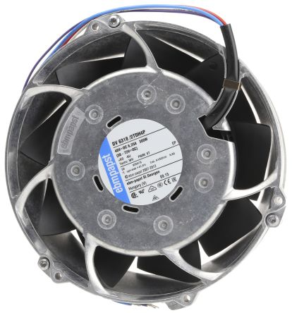 DC Axial Fan, 172 (Dia.) x 51mm, 950m³/h, 300W, 48 V dc (DV6300 Series)