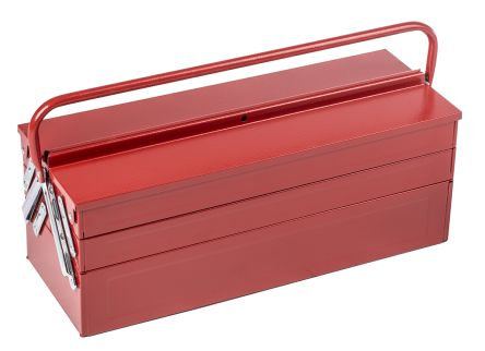 RS Pro Metal Cantilever tool box Non Removable dimensions 550 x 215 x 240mm