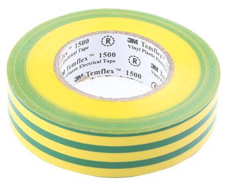 De 2729 5113 3 3m Temflex 1500 Green Yellow Electrical