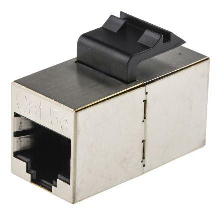 2111122 1 commscope cat5e rj45 coupler 2 port shielded commscope