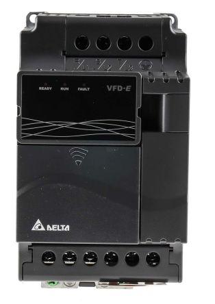 7 kw 变频器驱动 vfd037e43a, 0 → 600 hz, 11.2 a, 460 v, 使用于3.