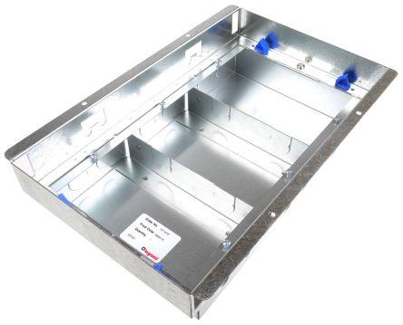 Cav385 Legrand Floor Box 3 Compartments 340 Mm X 230mm