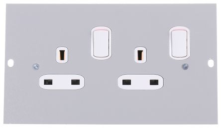 sp3201 | legrand floor box switch socket, 3 compartments 100 mm