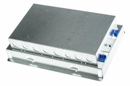 Cav485 Legrand Floor Box 4 Compartments 340 Mm X 230mm
