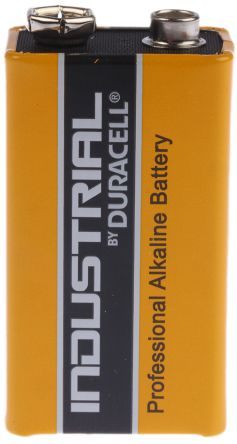 9V batteri Industrial by Duracell Alkalisk