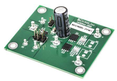 micrel mic4605 mosfet 驱动器 评估测试板 mic4605-2ymt ev
