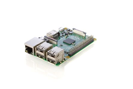 Raspberry Pi B+ Computer-Board, ARM11, BCM2835