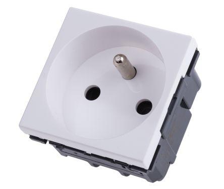 572021 prise lectrique legrand s rie arteor 16a montage encastr blanc en plastique. Black Bedroom Furniture Sets. Home Design Ideas