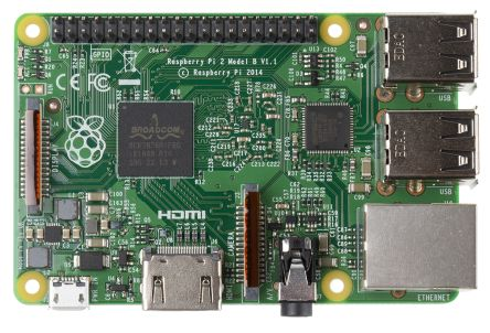Carte d'ordinateur, Raspberry Pi 2 Model B, BCM2836
