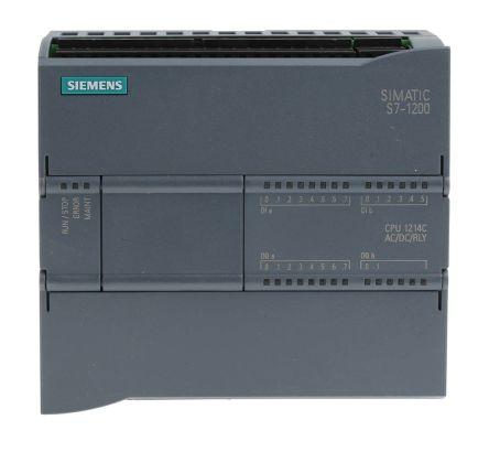 6es7214 1bg40 0xb0 siemens s7 1200 plc cpu ethernet networking profinet interface 75 kb. Black Bedroom Furniture Sets. Home Design Ideas
