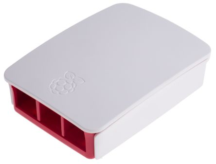 Official Raspberry Pi 2 B, Raspberry Pi B+ Case, Red, White