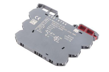 rs pro 单刀双掷 din 导轨 非闭锁继电器, 24v dc, 适用于接口应用