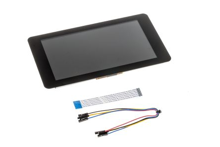 "Ecran tactile LCD Raspberry Pi - 7"" Officiel, tactile 7"" 800x480"