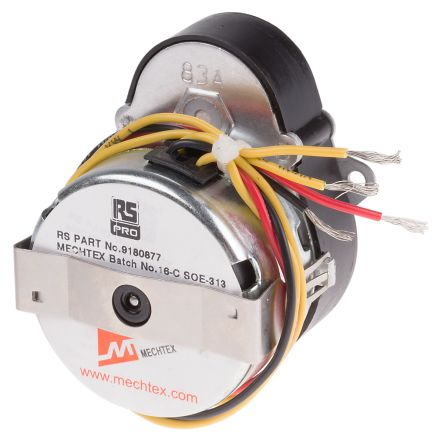 Rs Pro Synchronous Ac Geared Motor 1 Phase Reversible