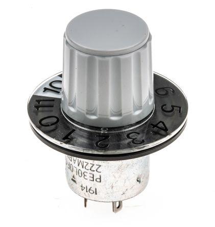 Schneider Electric 施耐德 按键开关头, Altivar 320 系列, 切面直径22mm, 电位计