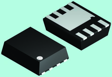 Fairchild Semiconductor Nチャンネル パワーMOSFET, 25 V, 105 A, 8 ピン パッケージ
