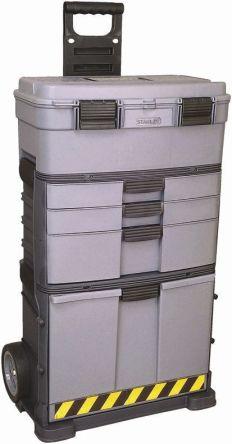 1-92-279 | Stanley, Værktøjskasse med 3 Skuffer, Boks med hjul 488 x 315 x 822mm | Stanley