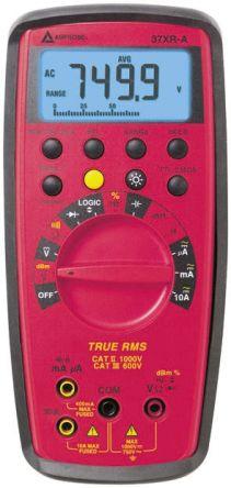 Amprobe 37XRA Handheld Digital Multimeter, 10A ac 750V ac 10A dc 1000V dc
