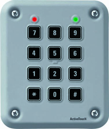 Touch sensitive keypad, 3x4