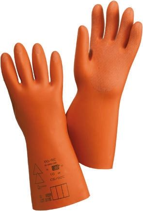 Catu Electrical Protection Cotton, Rubber Reusable Gloves 9 - M