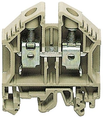 din 导轨安装接线端子,带到'g'型(不对称,符合 bs5825:1990