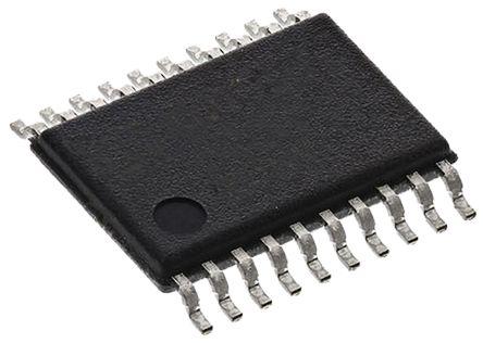 Texas Instruments SN74HC541PWR HC 系列 8位 三态 非反相 缓冲器,线路驱动器, 20引脚 TSSOP封装