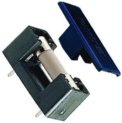 5365 5 20 semi enclosed pcb fuse holder 5x20mm neutral. Black Bedroom Furniture Sets. Home Design Ideas