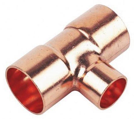 Raccordo di saldatura in rame ramificazione riduttore a for Tipi di raccordi per tubi di rame