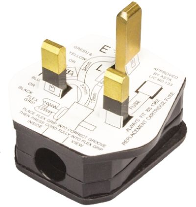 rs pro uk mains connector bs a cable mount v ac rs pro uk mains connector bs 1363 13a cable mount 250 v ac