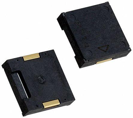 圆形印刷电路板安装连续音调蜂鸣器 这是一系列高声