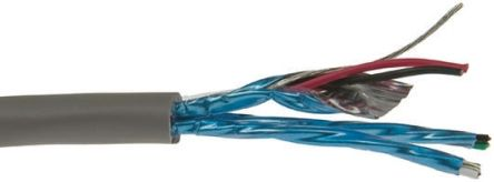 6010C SL001 | Alpha Wire 3 Pair Control Industrial Cable, 300 V ...