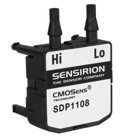 Sensirion Differential for Air, Nitrogen Gas, Oxygen Gas Pressure Sensor maximum pressure reading 500Pa 5.25 V dc
