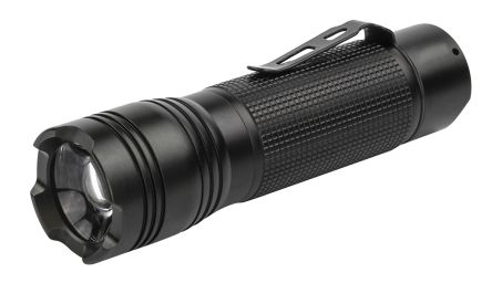 Ansmann Compact Torch LED Agent 1.2FT AAA, Black, Aluminium Case